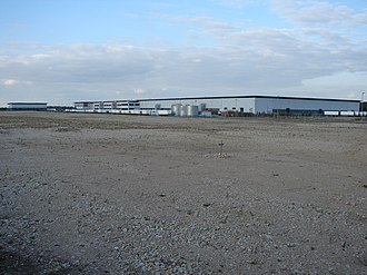Shirebrook - Sports Direct complex in 2007