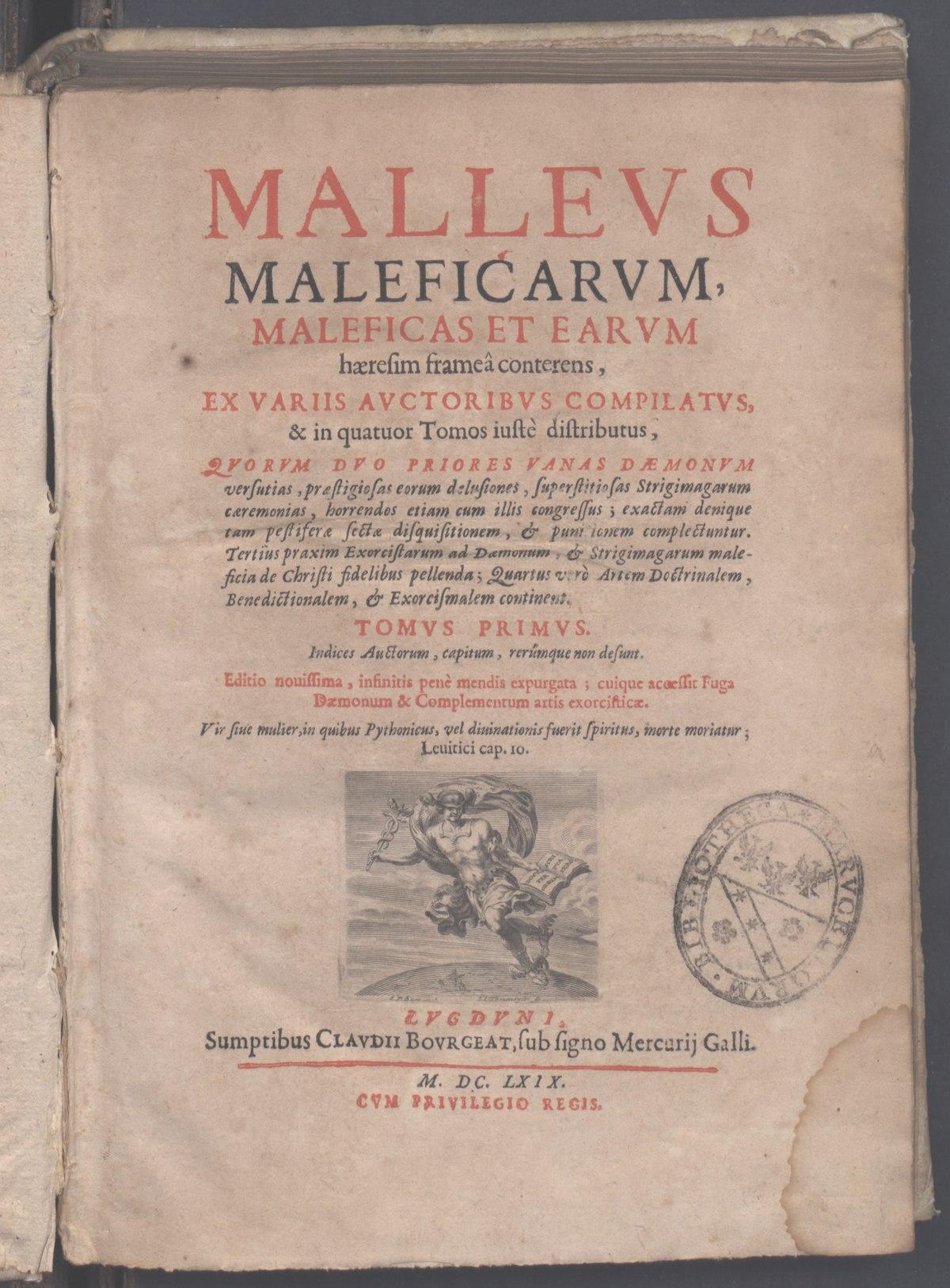 Malleus Maleficarum - Wikipedia