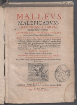 Image illustrative de l'article Malleus Maleficarum