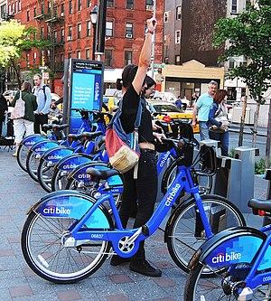 Citi Bike - Image: Spring Lafayette citibike opening jeh