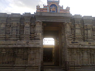 Srivaikuntam - Srivaikundam Sivan Temple(one of the Navakailayam temples) Front View