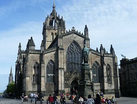 The High Kirk of Edinburgh, also known as St Giles' Cathedral St. Giles, Edinburgh.jpg