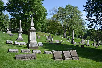 St. Mary Cemetery, Pittsburgh - The cemetery in 2018