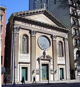 Image illustrative de l'article Église Saint-Vincent-de-Paul (New York)