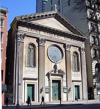 St. Vincent de Paul Church (Manhattan) - Image: St. Vincent de Paul Church