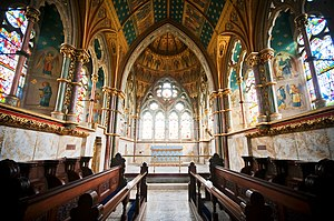 St Mary's, Studley Royal - The chancel