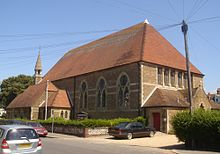 St George's Church, Worthing (from SW).jpg