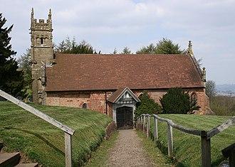 Saint Kenelm - St. Kenelm's Church, Clent Hills, Worcestershire.