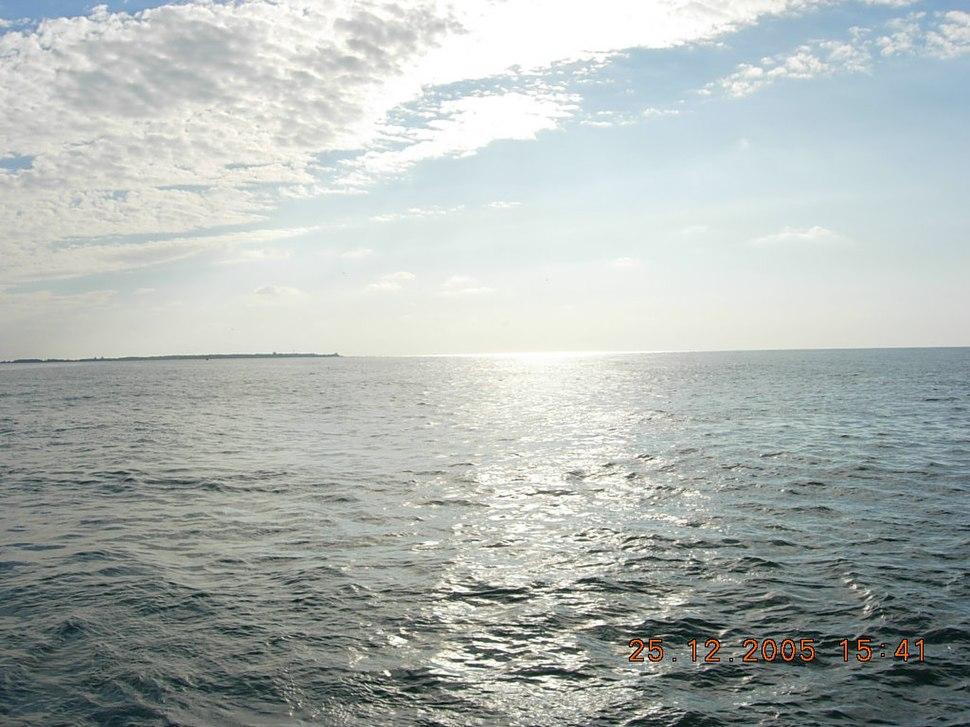 St Martin Island on Bay of Bengal