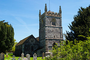 Sturminster Marshall - Image: St Mary's Church, Sturminster Marshall