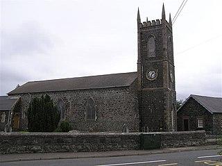 Macosquin village in United Kingdom