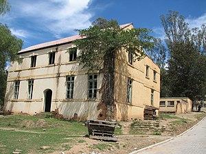 Keiskammahoek - One of the buildings at the old St Matthews Mission School