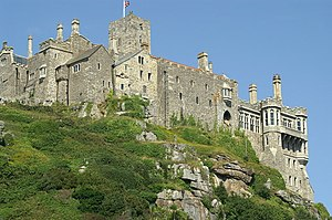Lady Catherine Gordon - Image: St Michael's Mount from the Sea geograph.org.uk 893899