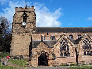 Tettenhall - St Michael and All Angels Church, Tettenhall
