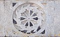 St Peter's Hall, South Elmham, Suffolk - St Catherine symbol.jpg