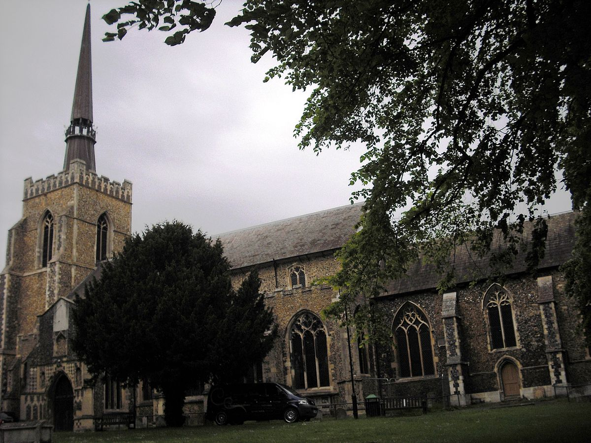 Church of St Peter and St Mary, Stowmarket - Wikipedia