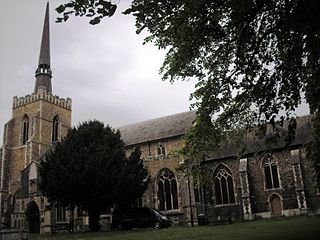Church of St Peter and St Mary, Stowmarket Church in Suffolk, England