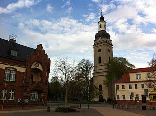 Genthin Place in Saxony-Anhalt, Germany