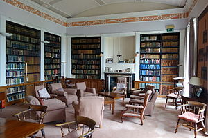 Clongowes Wood College - The Jesuit Community Library at Clongowes Wood College SJ