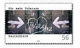 Stamp Germany 2002 MiNr2235 Toleranz.jpg