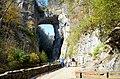 Standing in awe Natural Bridge State Park (30681636612).jpg