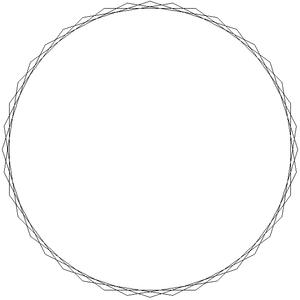 Tetracontagon - Image: Star polygon 40 4