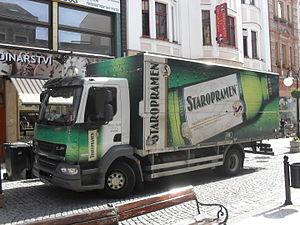 Staropramen Brewery - Staropramen truck