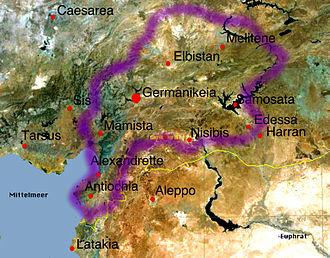 Philaretos Brachamios - State controlled by Philaretos.