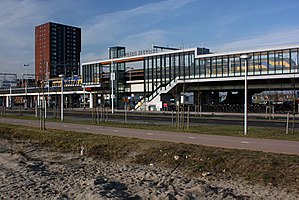 Utrecht Terwijde railway station - Utrecht Terwijde railway station under construction