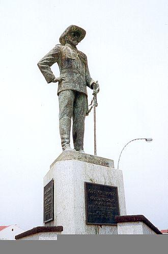Curt von François - Curt von François statue, Windhoek