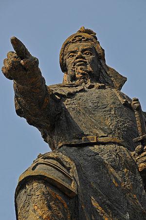 Trần Hưng Đạo - Image: Statue of Tran Hung Dao, Ho Chi Minh City, Vietnam