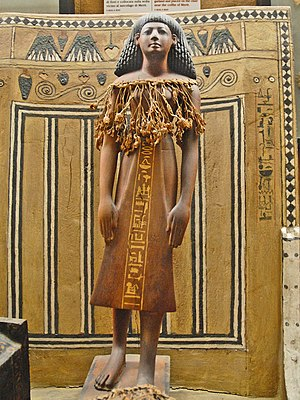 Ernesto Schiaparelli - Image: Statuette of Kha (TT8)