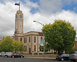 Stawell, Victoria - Stawell Town Hall, Main Street, the council's customer service centre