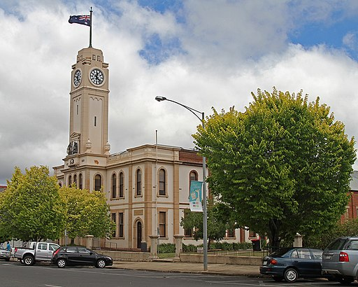 Stawell Town Hall, Stawell, Vic, jjron, 12.01.2011