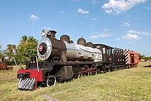 Mozambique-Transport-Steam locomotive Inhambane