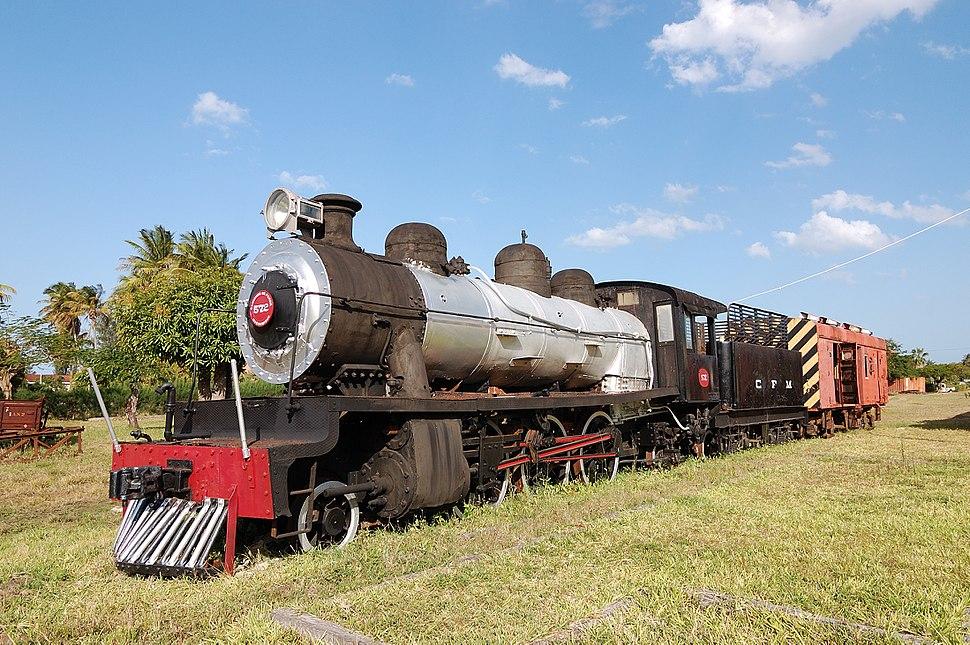 Steam locomotive Inhambane