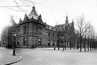 Stedelijk Museum Amsterdam - The old building of the Stedelijk Museum was opened in 1895