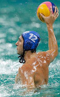 Stefan Mitrović Serbian water polo player