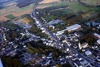 Steinfort - Image: Steinfort aerial view
