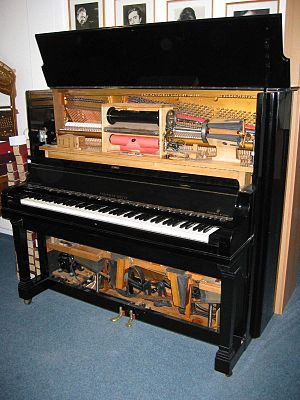 Player piano - Steinway Welte-Mignon reproducing piano (1919)