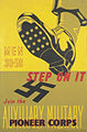 Step on it - Join the Auxiliary Military Pioneer Corps Art.IWMPST0187.jpg