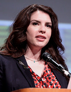 Stephenie Meyer på San Diego Comic-Con International 2012.