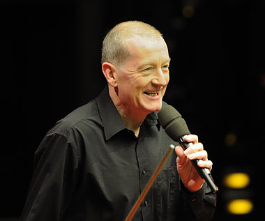 Steve Davis at German Masters Snooker Final (DerHexer) 2012-02-05 03