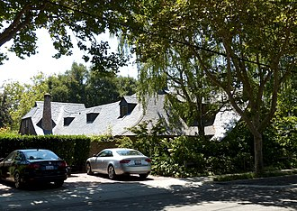 Steve Jobs - Jobs's house in Palo Alto