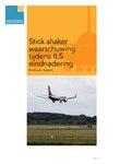 Stick shaker waarschuwing tijdens ILS eindnadering.pdf