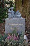 Stinius Fredriksen, gravminne på Vestre Aker kirkegård, Oslo, 2016-01-31, DSC 3599.jpg