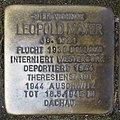 Stolperstein Düren Bonner Straße 8 Leopold Mayer.JPG