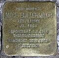Stolperstein Damaschkestr 30 (Charl) Alice Buttermilch.jpg