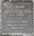 Stolperstein Lüdinghausen Olfener Straße 10 Rosalie Meyer.jpg