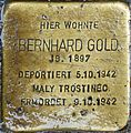 Stolperstein Salzburg, Bernhard Gold (Müllner Hauptstraße 25).jpg